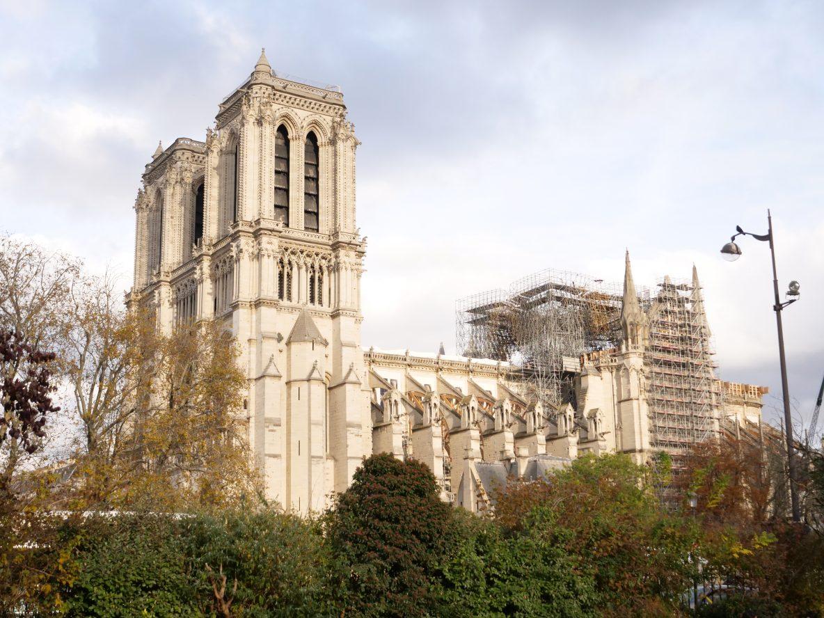 La cathédrale de 17 novembre 2019
