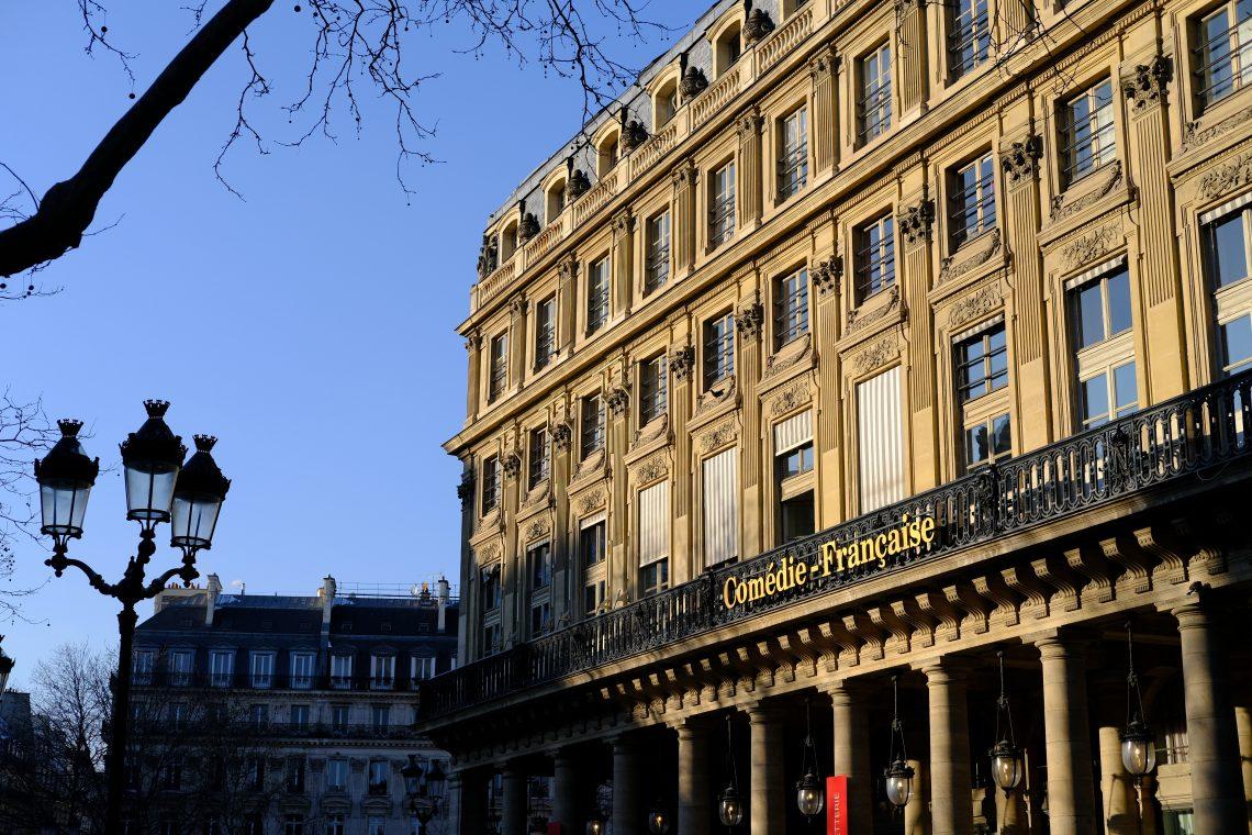La façade de la Comédie Française