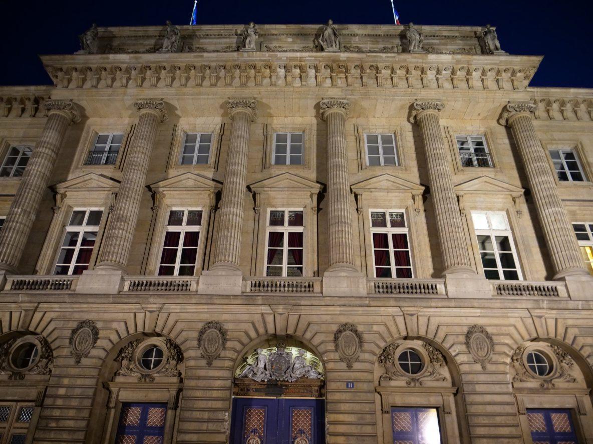 La façade du musée de la Monnaie sur les quais de Seine