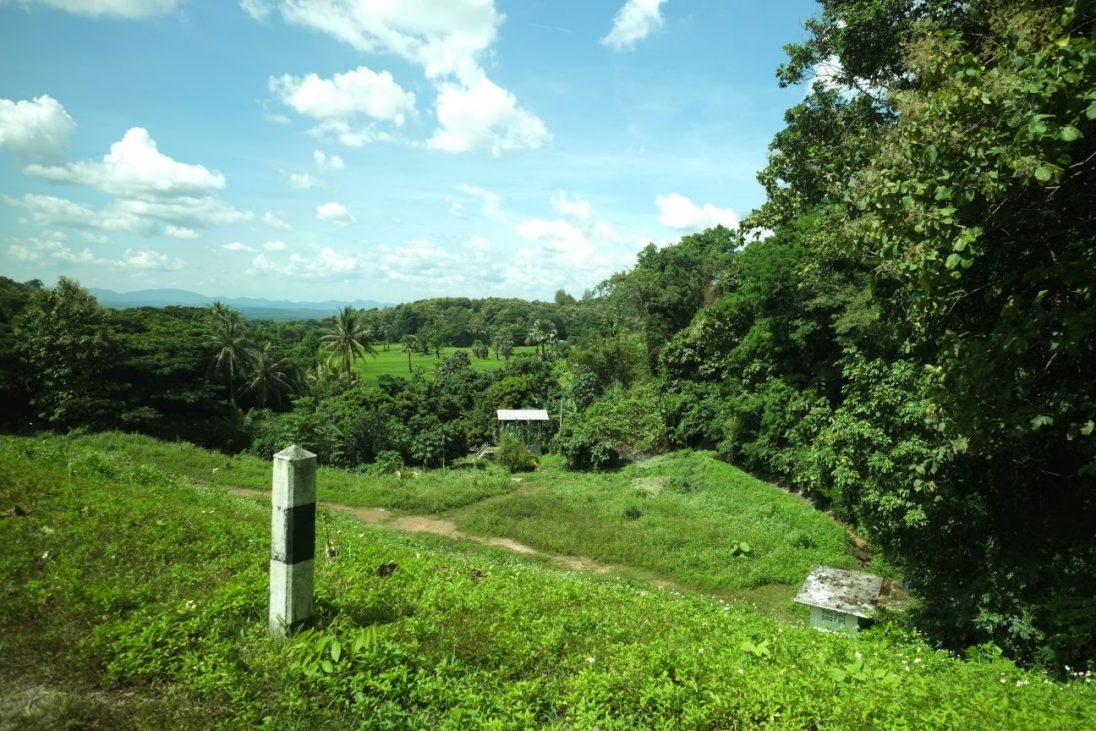La forêt tropicale dans les alentours de Lampang