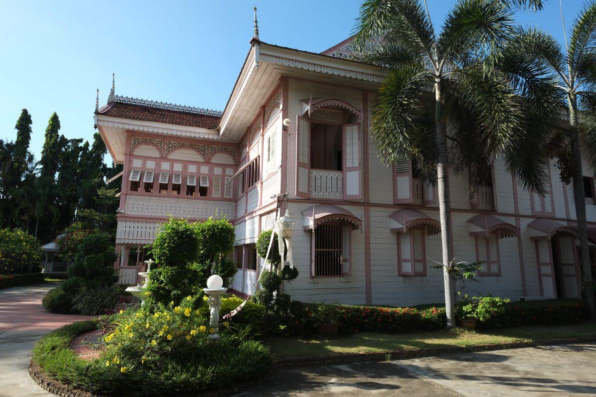 La maison Rose ou Wongburi, un monument historique à Lampang