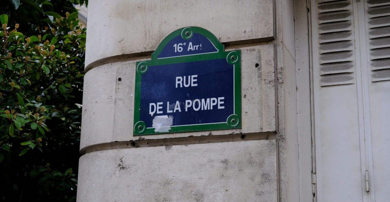 La rue de la Pompe dans le 16 ème