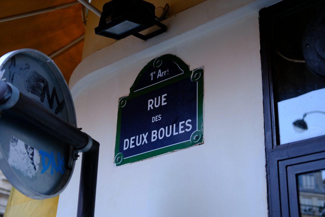 La rue des deux boules, un nom de rue insolite