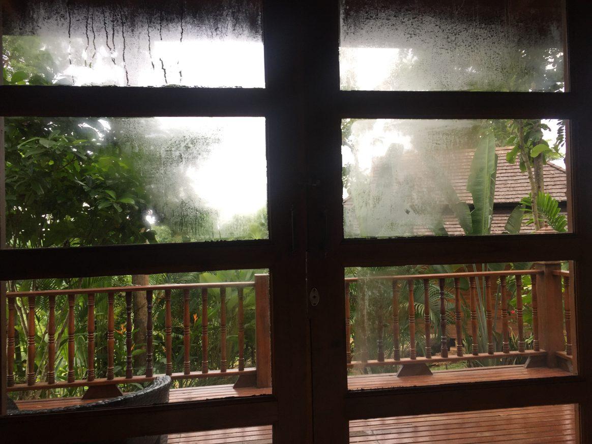 La saison des pluies en Thaïlande
