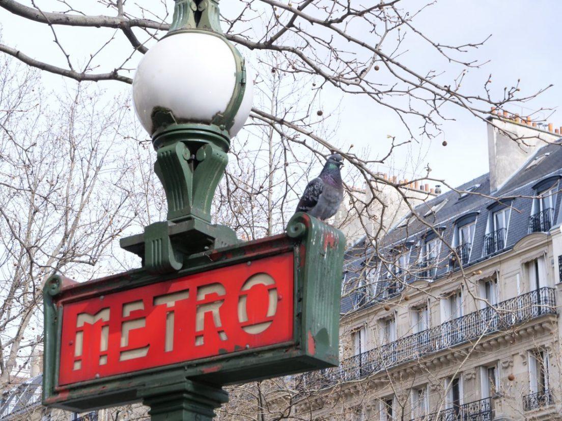 La station Trocadéro dans le 16 ème