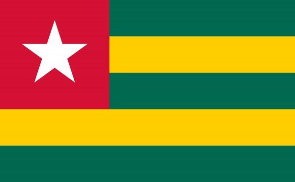 Le drapeau du Togo