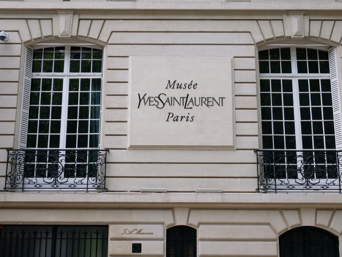 Le musée Yves Saint-Laurent dans le 16 ème arrondissement