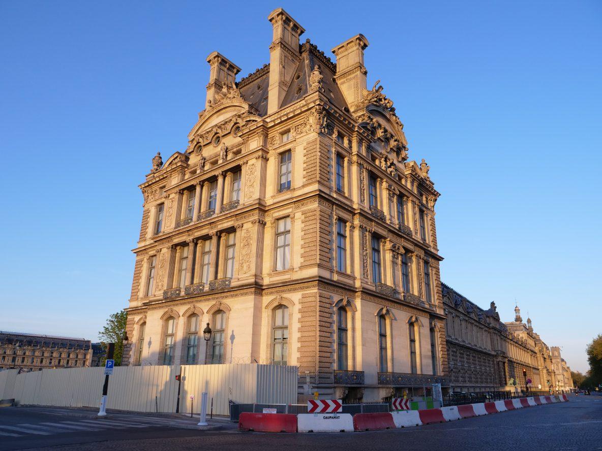 Le splendide palais du Louvre reconverti en Musée