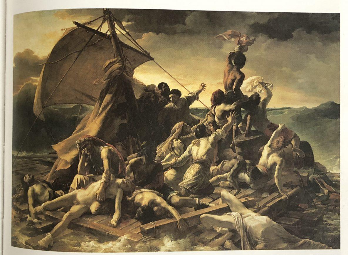Le tableau représentant le naufrage de la Méduse
