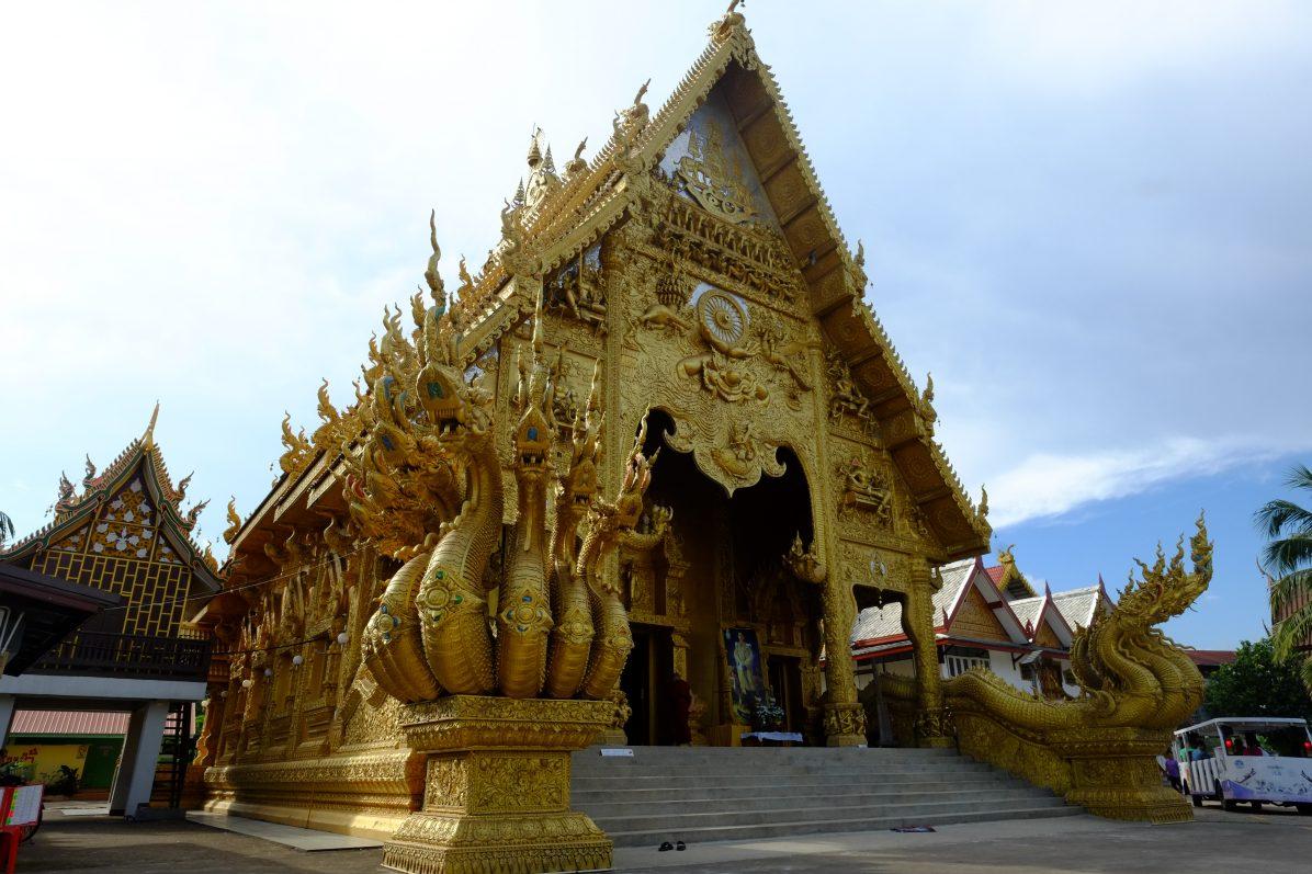 Le temple doré de Sri Phan Ton à Nan