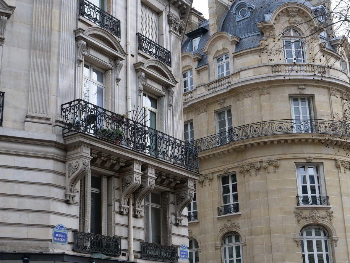 Les belles façades parisiennes