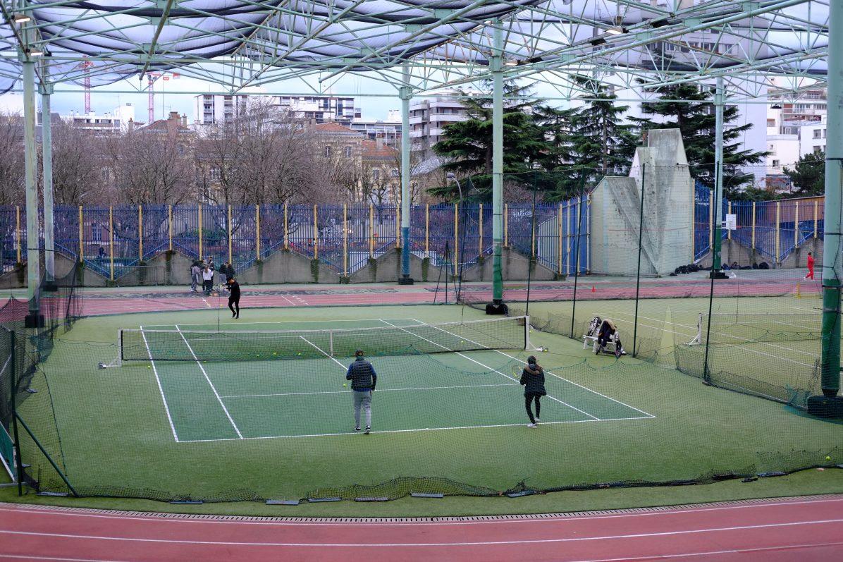 Les tennis René et André Mourlon dans le 15 ème arrondissement de Paris