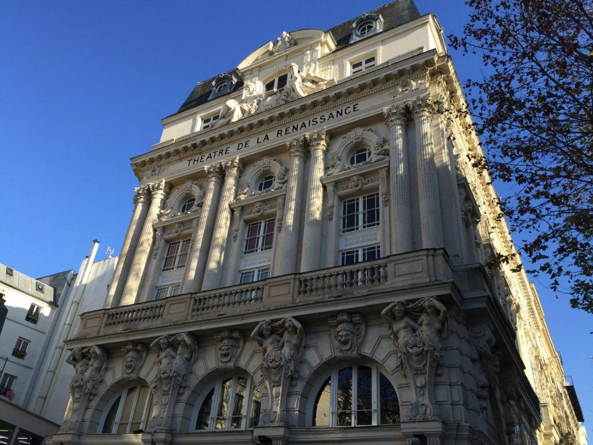 L'une des plus belles façades de Paris dans le 10 ème arrondissement de Paris