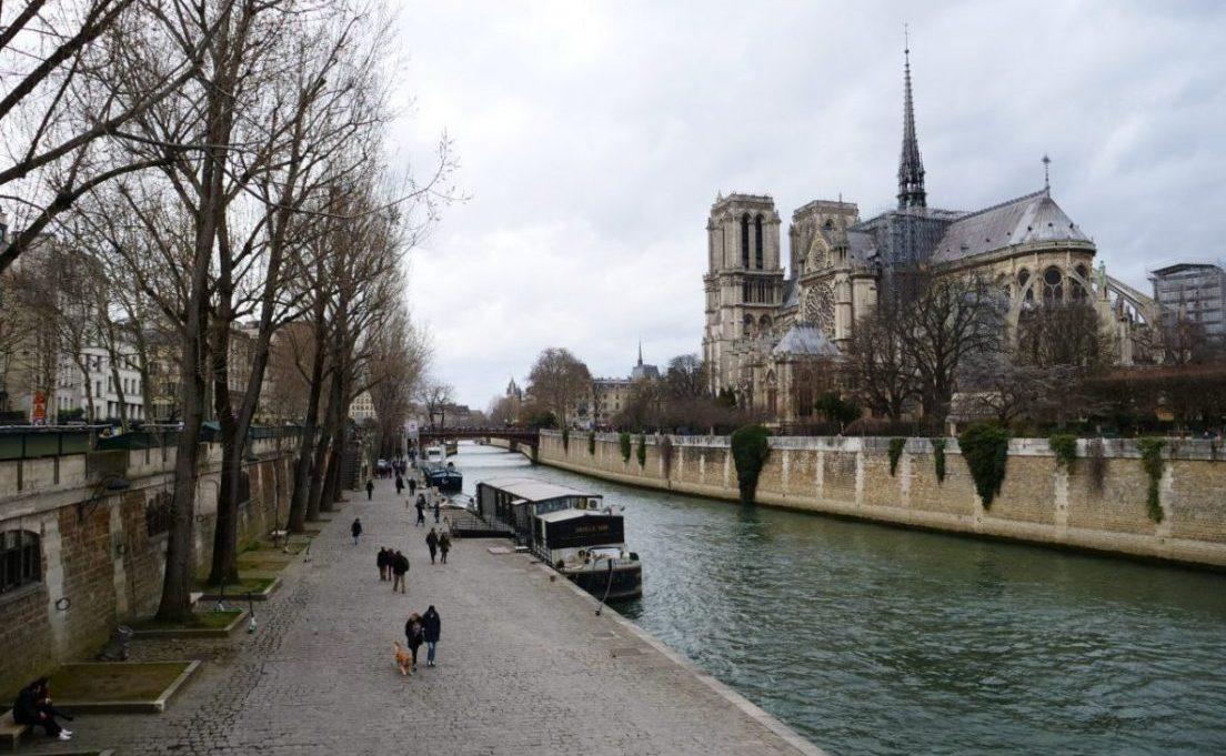 Notre Dame de Paris le 3 mars 2019