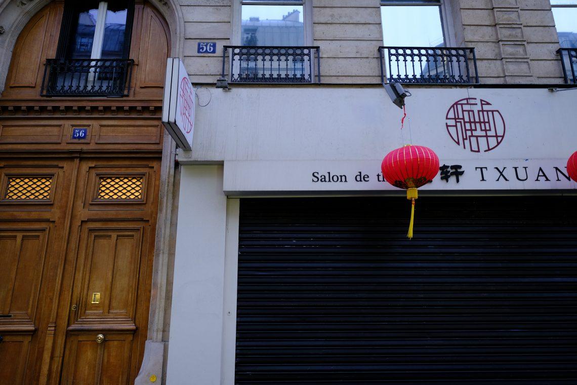 T'Xuan un salon de thé à Paris