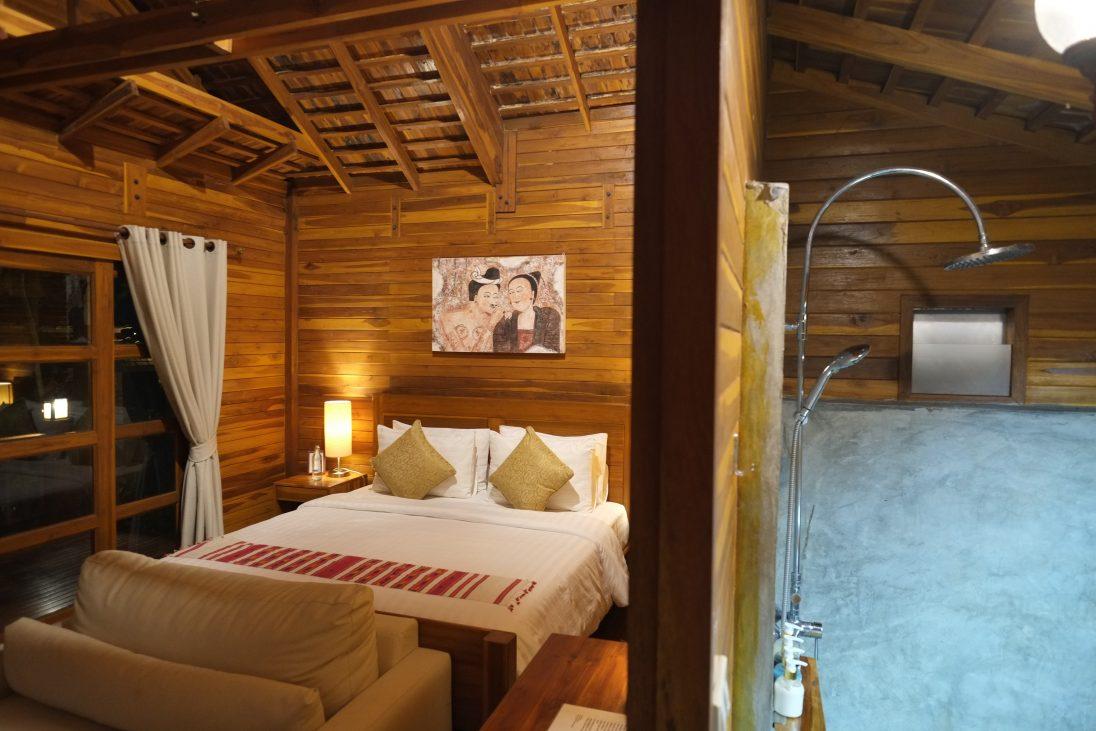 Une chambre dans un petit cottage du Nan Seasons Boutique