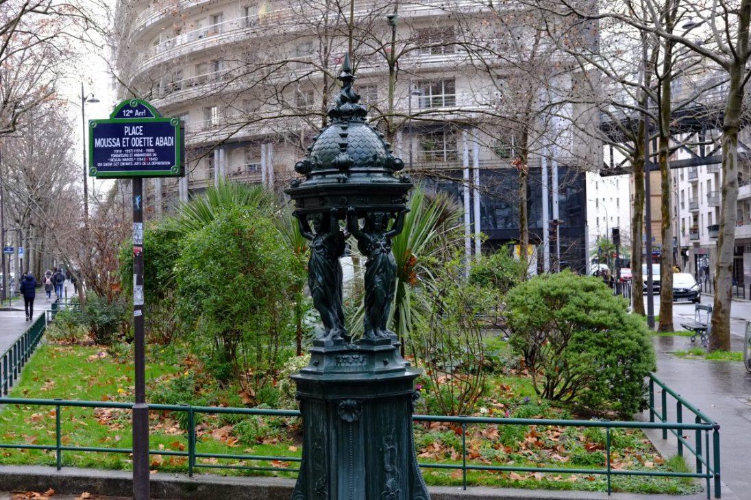 Une fontaine Wallace dans le 12 ème arrondissement