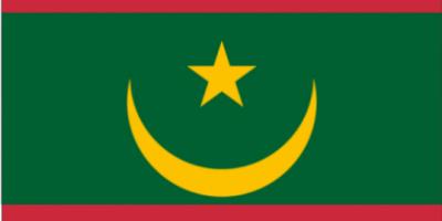 le drapeau de la Mauritanie