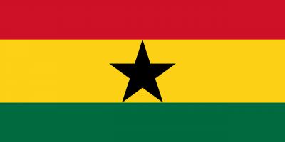 le drapeau du Ghana