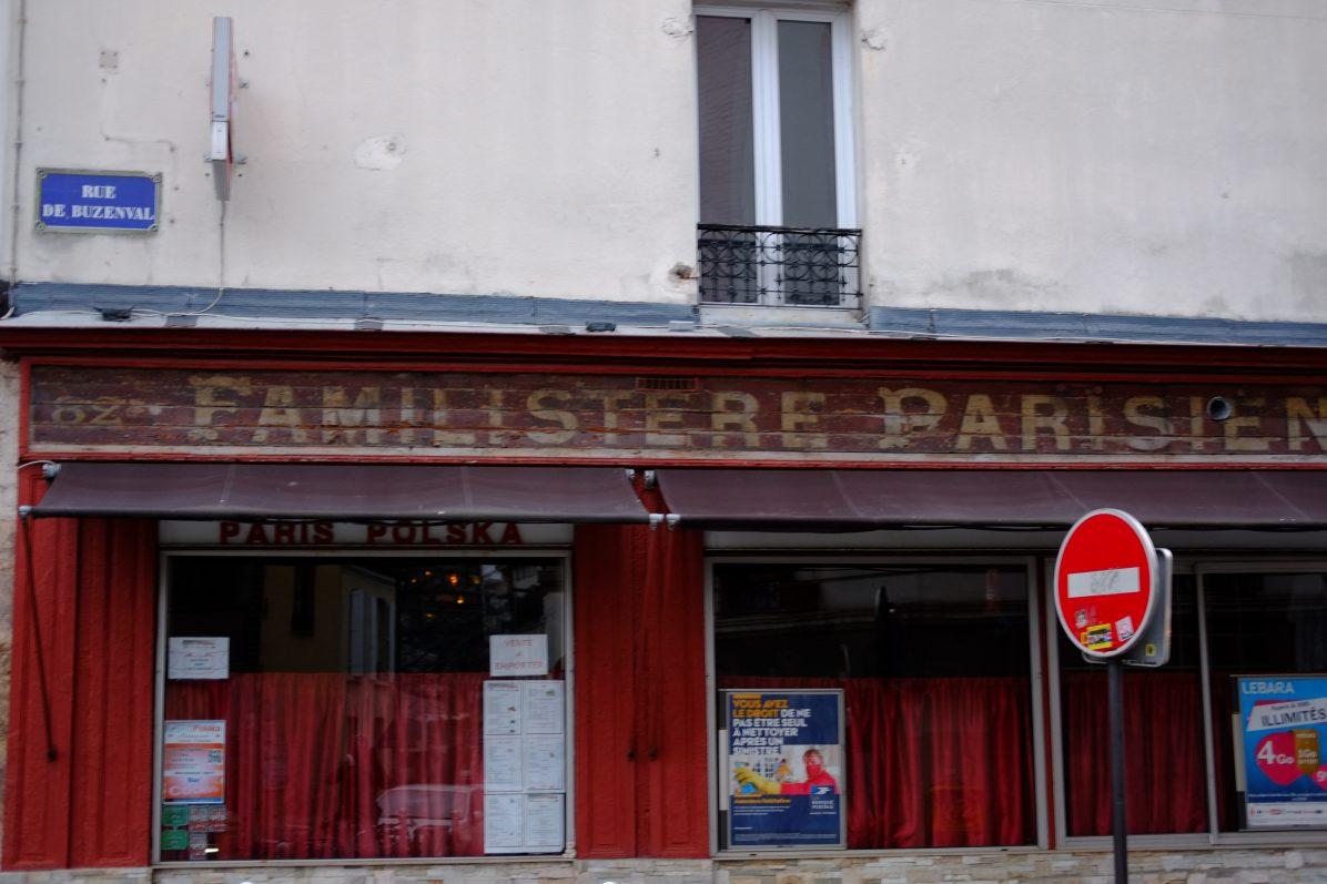 un familistère dans l'est de Paris