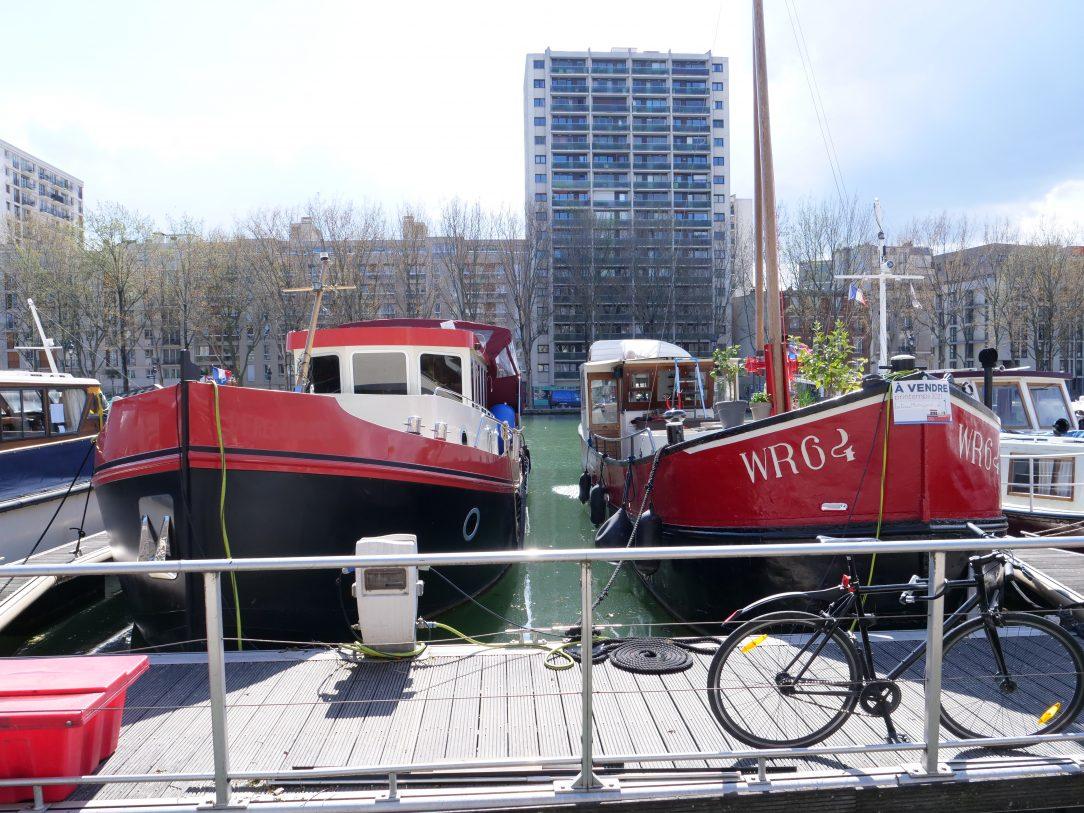 Fayolle Marine, le port du bassin de la Villette dans le 19 ème