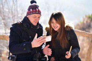 La visite du village de Jindalai en compagnie d'une guide