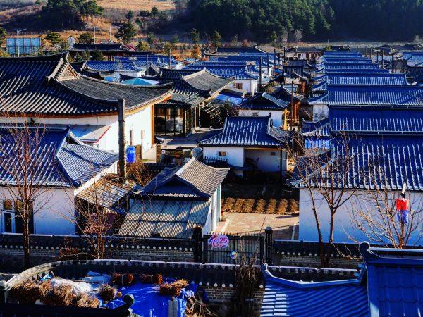Le petit village de Jindalai dans le nord-est de la Chine