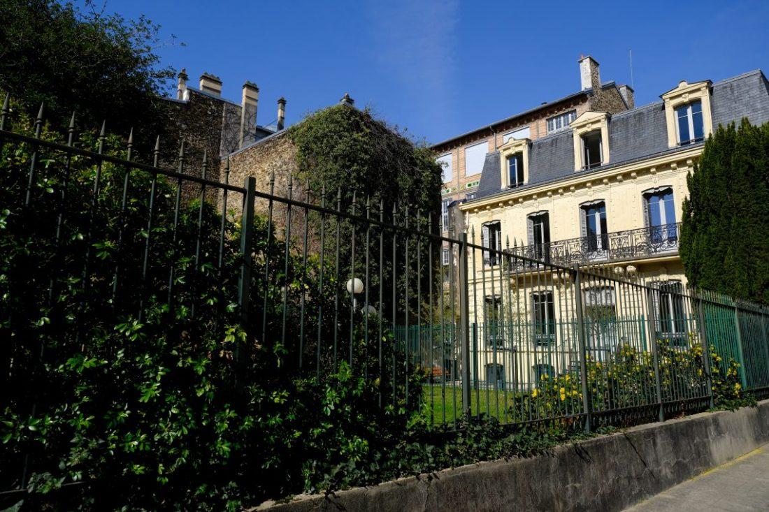 Les jardins privés de la cour d'Alsace Lorraine