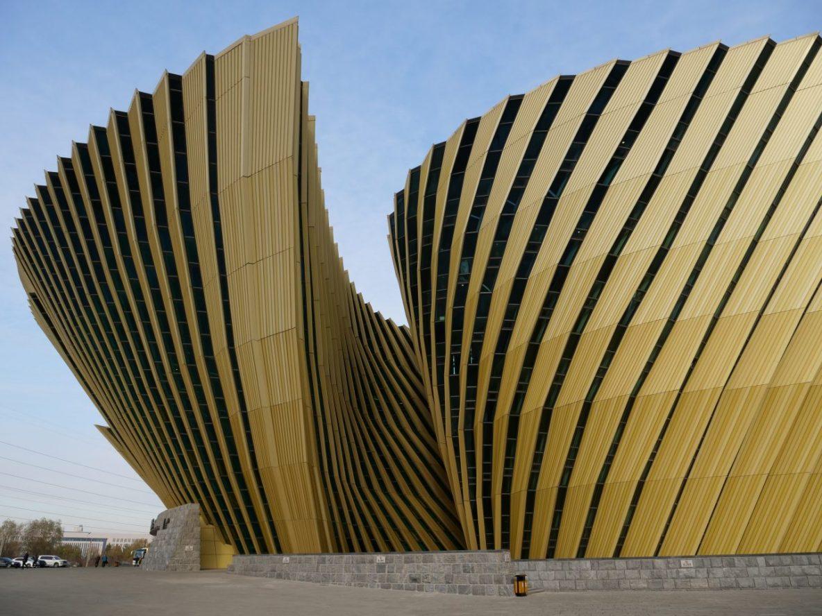 L'un des bâtiments les plus futuristes de Chine à Changchun