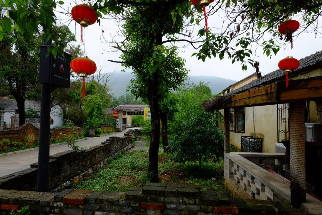 Sangoa, un village chinois plongé dans une nature verdoyante