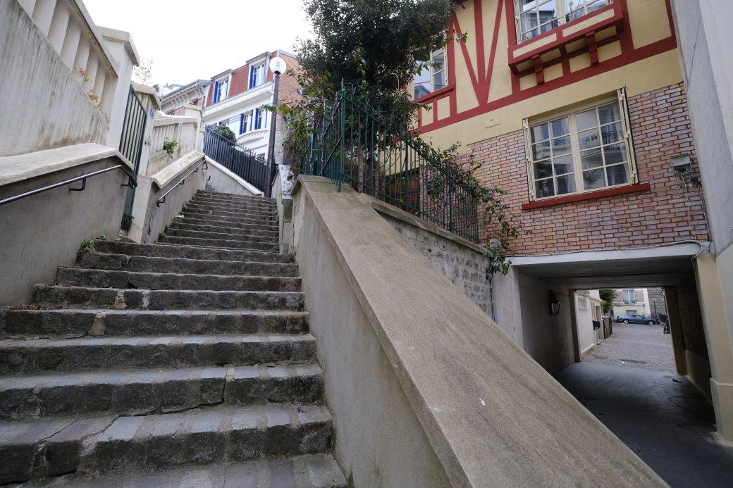 Un petit village perdu dans le nord de Paris