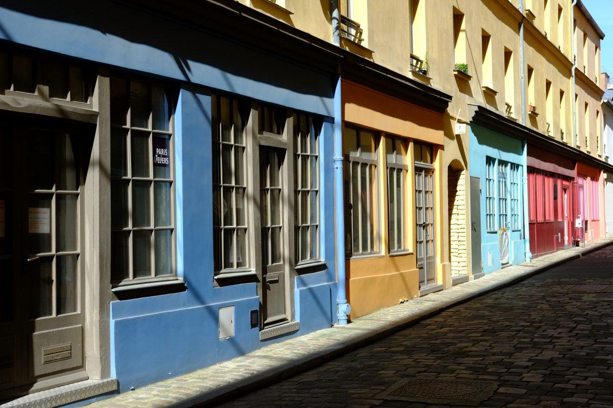 Un peu de couleurs à Paris