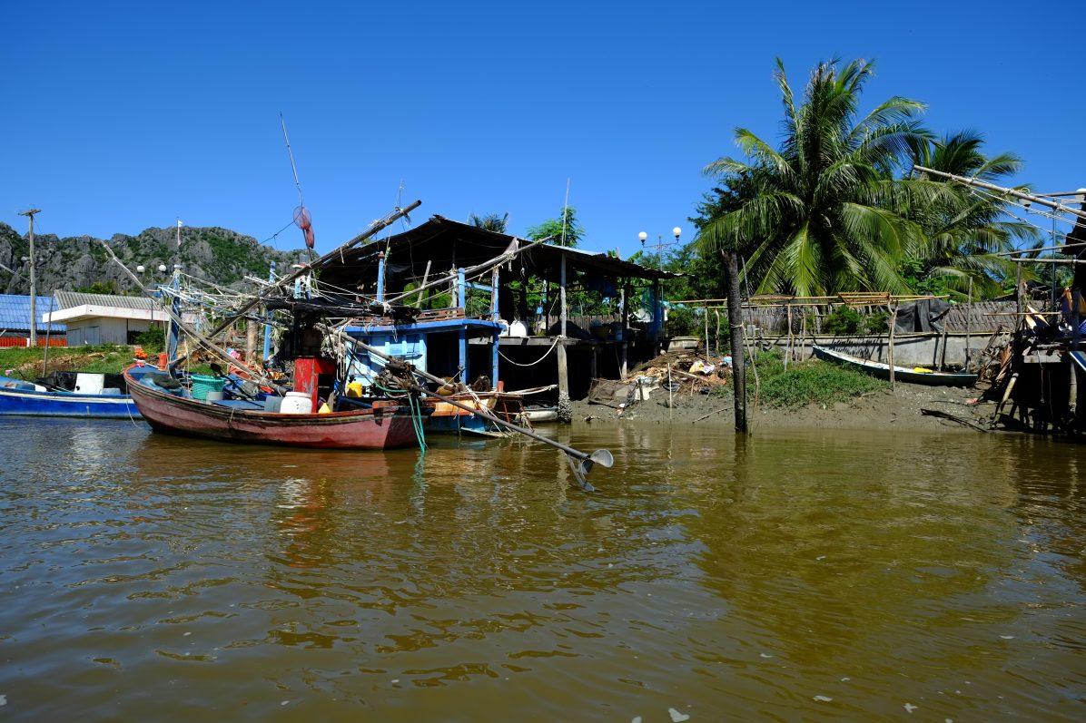 Un village de pêcheurs entre mer et lagune
