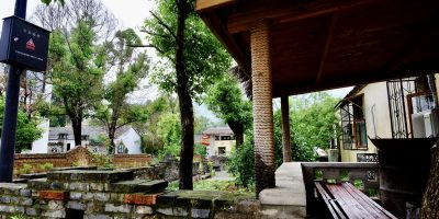 Une maison traditionnelle dans la province de L'Anhui, village de Sangoa
