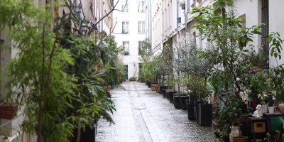 Une petite rue privée dans le 10 ème arrondissement, rue du faubourg Saint-Denis