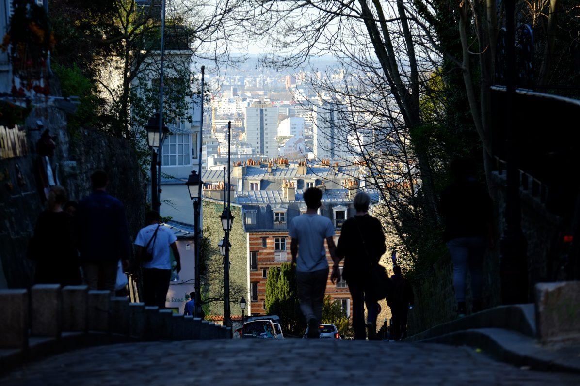 Une vue imprenable sur le 18 ème arrondissement de Paris