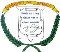 emblème de l'université de Bangui