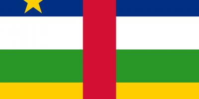 le drapeau de la république centrafricaine