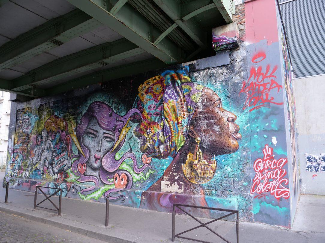 le quai de la Marne une mine d'or pour les fans de street art