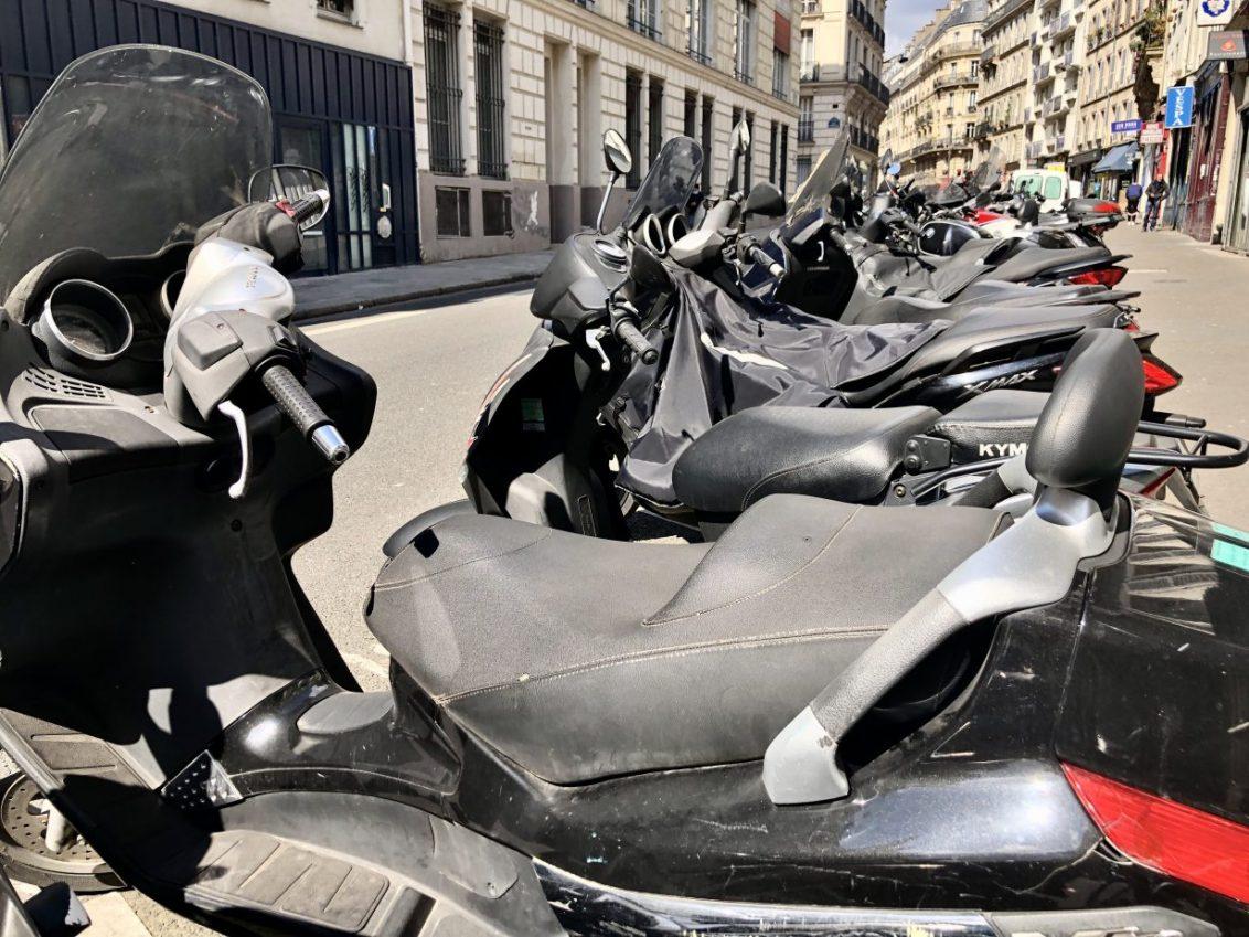 La liste des scooters les plus volés à Paris