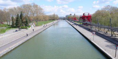 Le bassin de la Villette sous le soleil