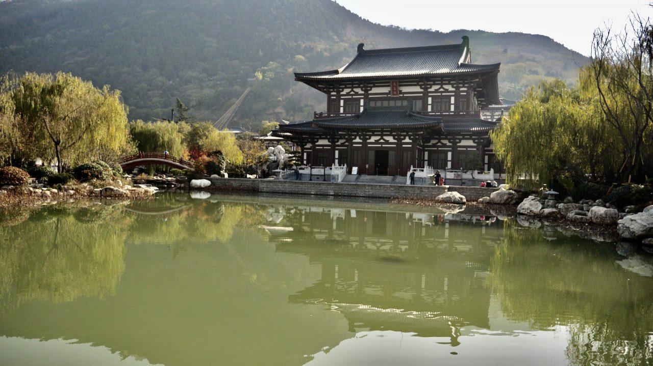 Le palais de Huaqing Chi à deux pas de la ville de Xi'an