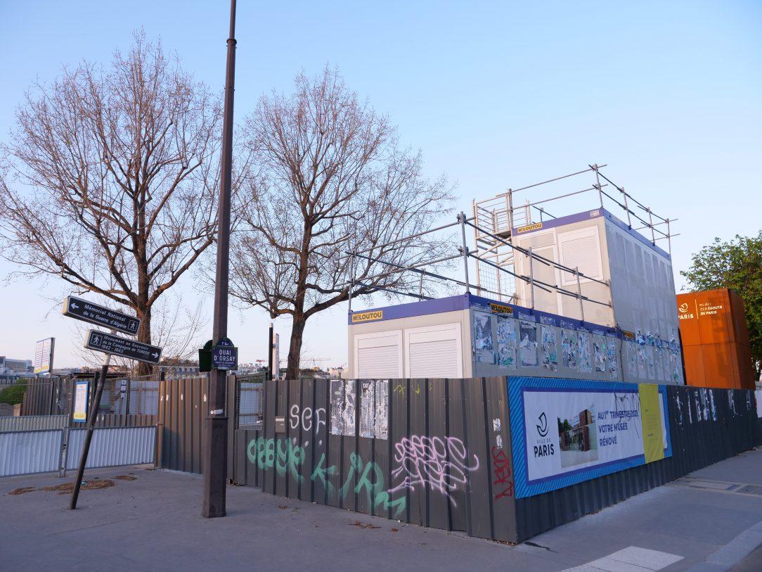 Les travaux qui exaspèrent les parisiens au niveau du pont de l'Alma