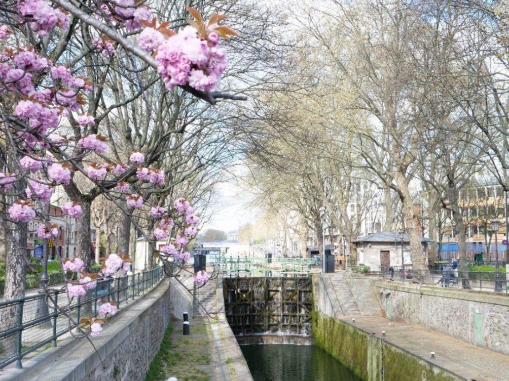 L'une des nombreuses écluses du Canal Saint-Martin