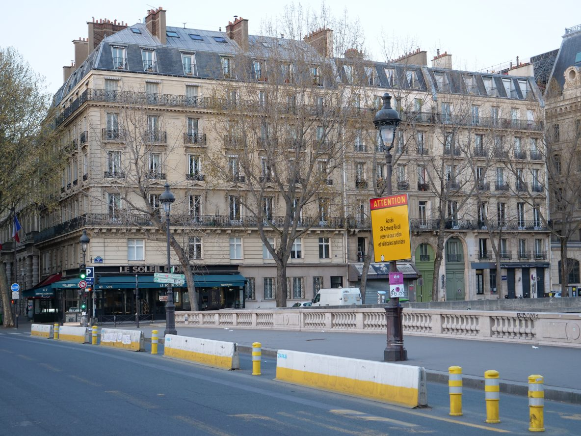 Un pont modifié par l'équipe de la Maire de Paris