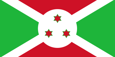 le drapeau du Burundi