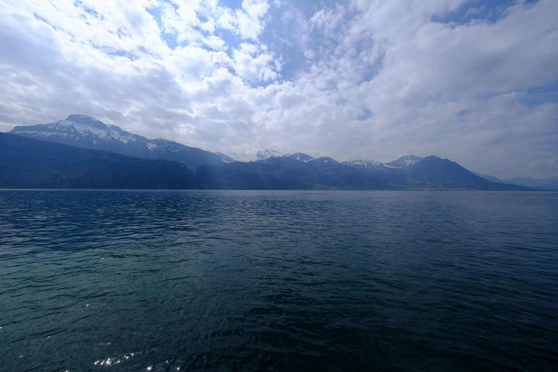 Gersau sur les bords du lac de Lucerne