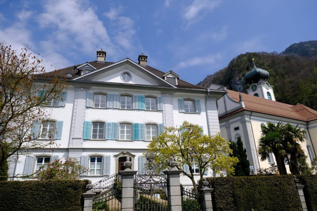 Gersau une ville authentique située au centre de la Suisse