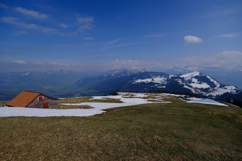 La Suisse vue depuis le mont Rigi