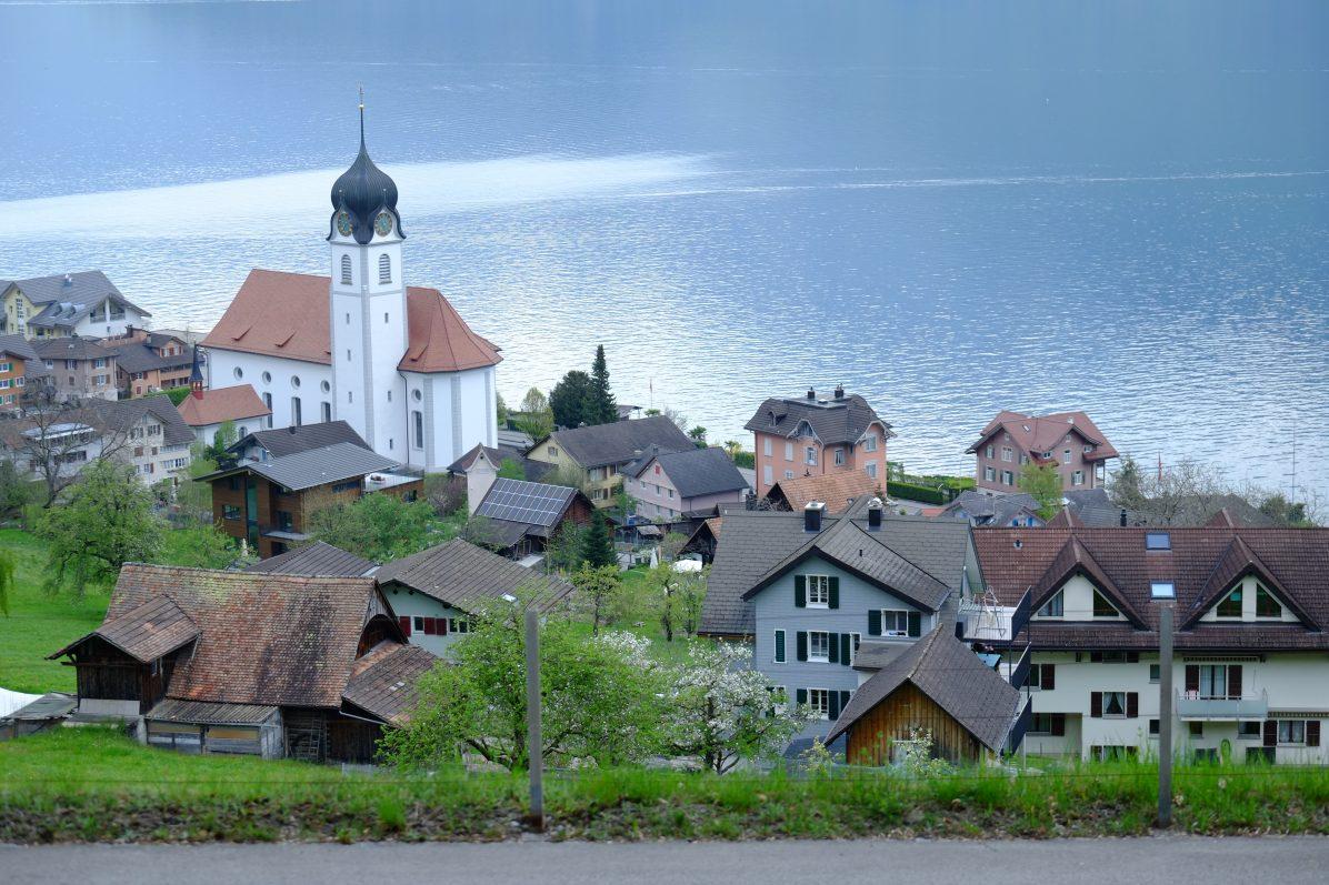 La jolie commune de Beckenried